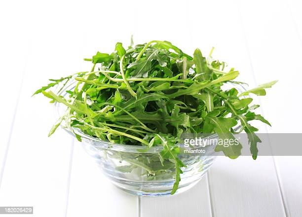 Ruccola in a bowl