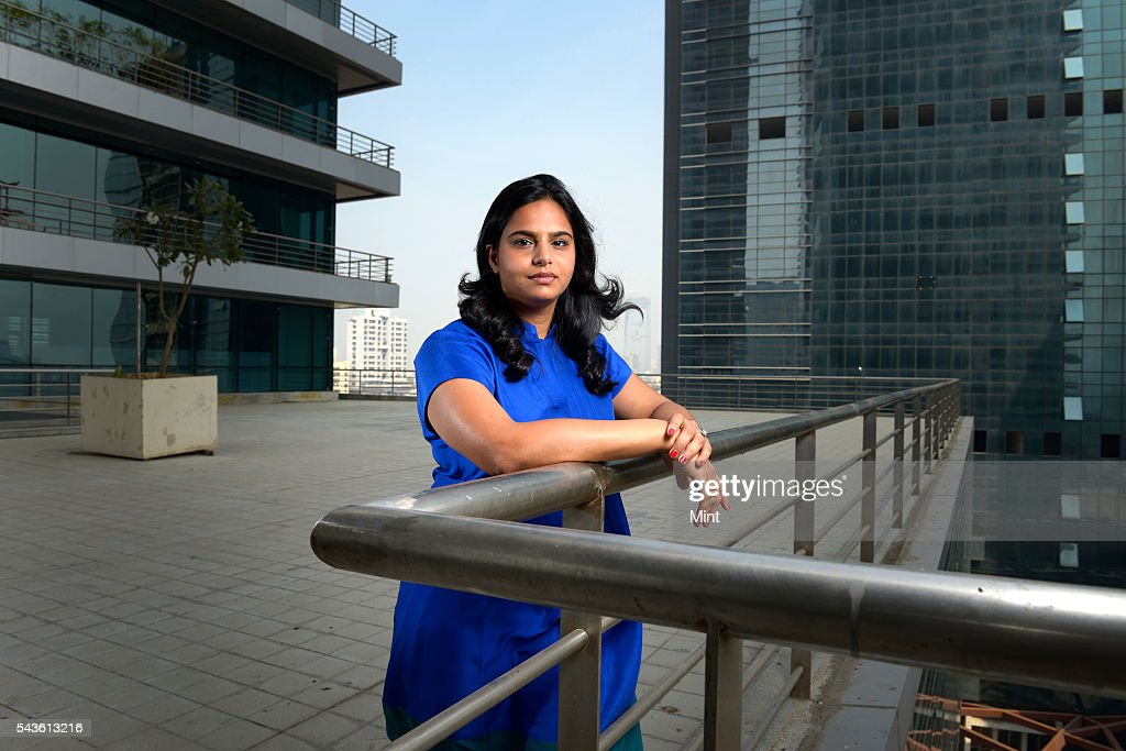 Ruchi Sanghvi, former VP-Operations at Dropbox, poses for a profile shoot on November 27, 2013 Mumbai, India.
