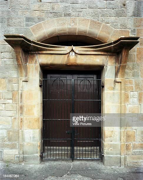 Ruchill Church Hall Glasgow United Kingdom Architect Charles Rennie Mackintosh Ruchill Church Hall Entrance