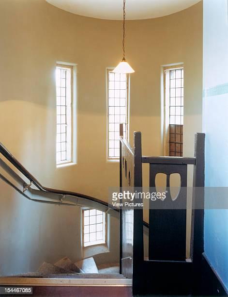 Ruchill Church Hall Glasgow United Kingdom Architect Charles Rennie Mackintosh Ruchill Church Hall Stairwell