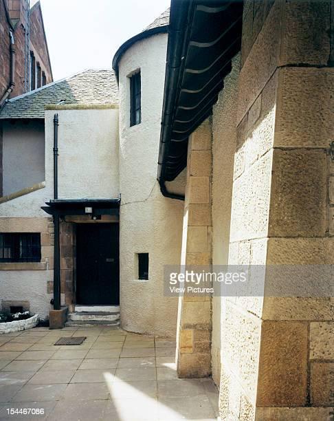 Ruchill Church Hall Glasgow United Kingdom Architect Charles Rennie Mackintosh Ruchill Church Hall Side Buttresses