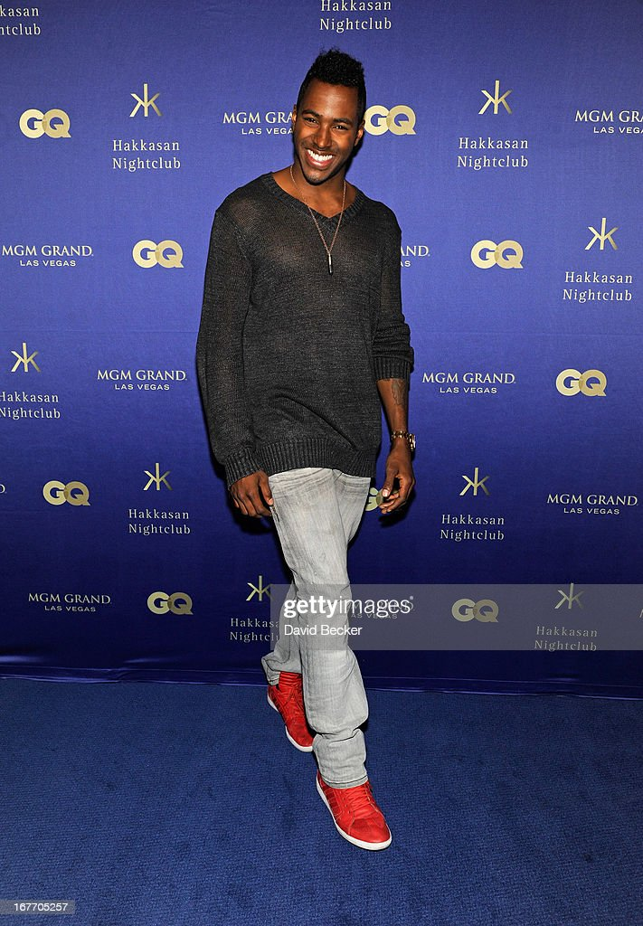 DJ Ruckus arrives at the grand opening of Hakkasan Las Vegas Restaurant and Nightclub at the MGM Grand Hotel/Casino on April 27, 2013 in Las Vegas, Nevada.