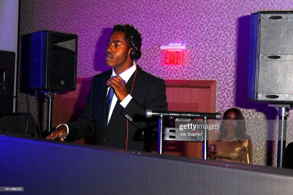 DJ Ruckus performs at amfAR Cinema Against AIDS TIFF 2012 during the 2012 Toronto International Film Festival at Shangri-La Hotel on September 7, 2012 in Toronto, Canada.