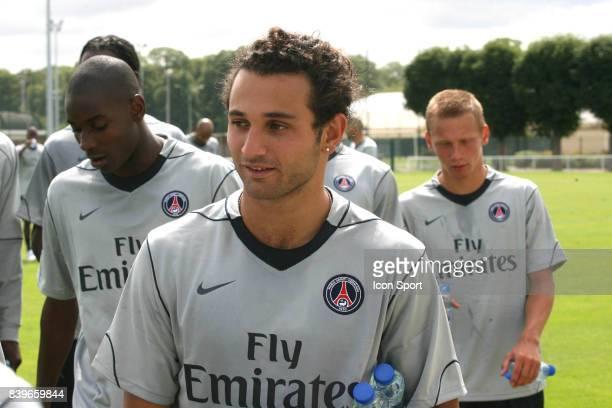 Ruddy HADDAD Reprise entrainement du PSG Camp des Loges Saison 2007/2008