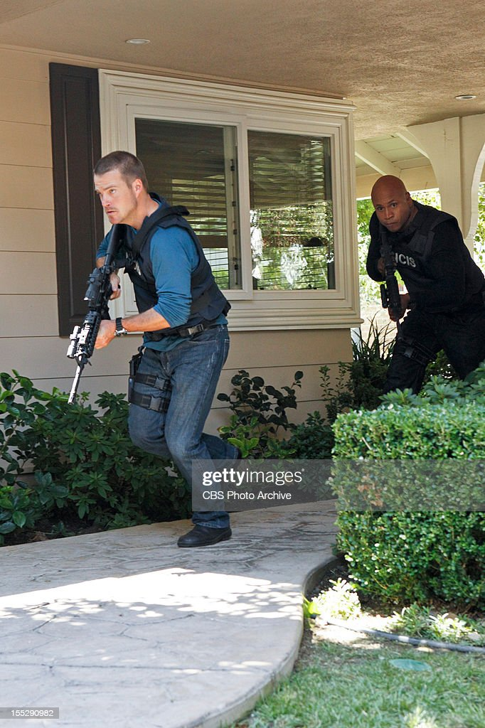 'Rude Awakenings' (Part 2) -- Pictured (L-R): Chris O'Donnell (Special Agent G. Callen) and LL COOL J (Special Agent Sam Hanna). The