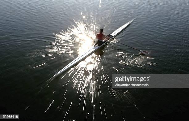 Rudern Olympische Spiele Athen 2004 Athen Einer / Maenner Feature 14004