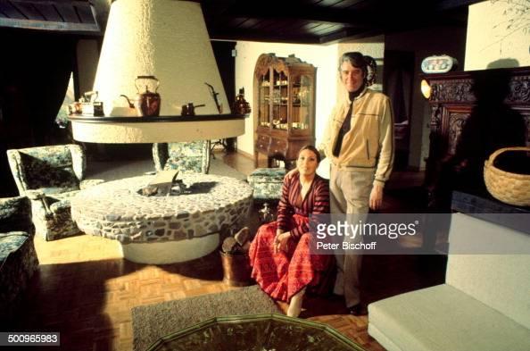 Rudi Carrell Ehefrau Anke HomestoryWachendorf Syke Bremen Wohnzimmer Anwesen Pictures