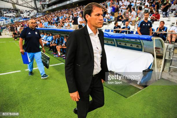 Rudi Garcia head coach of Marseille during the UEFA Europa League qualifying match between Marseille and Ostende at Stade Velodrome on July 27 2017...