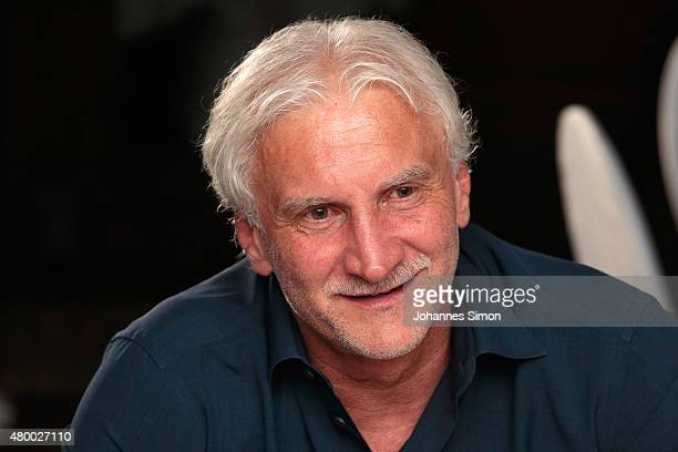 Rudi Voeller attends the 2nd evening of the FIFA World Champions of 1990 meeting at Hotel Seeleiten on July 8 2015 in Bolzano Italy