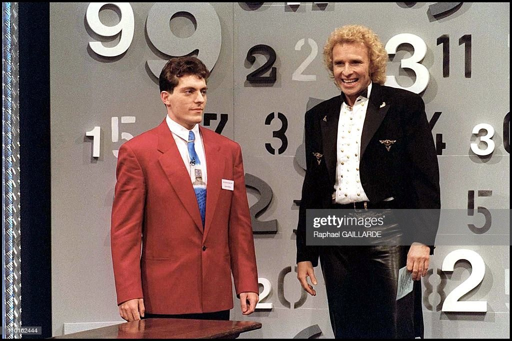 Rudiger Gamm mental calculation prodigy in France on January 15 1994 File picture Rudiger Gamm during the german TV show 'Wetten Dass' host by Thomas...