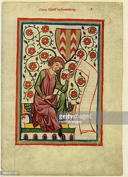 Rudolf II of Fenis Between 1305 and 1340 Found in the collection of the Library of the Ruprecht Karl University Heidelberg