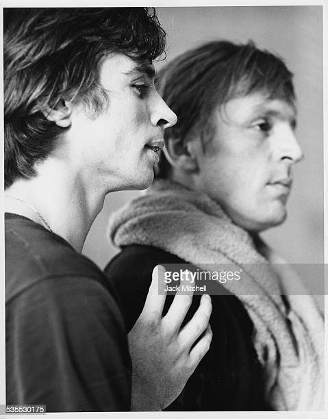 Rudolf Nureyev and Erik Bruhn photographed January 20 1962