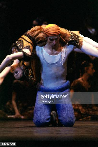 Rudolf Nureyev during rehearsals for Manfred which opens at the London Coliseum as the second part of the Nureyev Festival The Russian born dances...