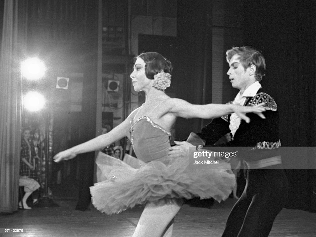 Rudolf Nureyev photographed March 10 1962 in his US stage debut performing with Ruth Page's Chicago Opera Ballet at the Brooklyn Academy of Music...