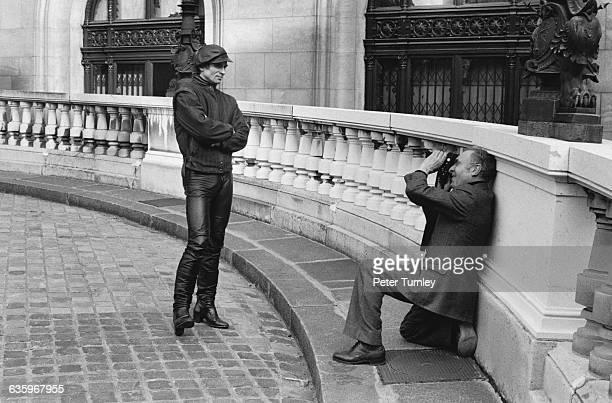 Rudolph Nereyev Posing for Robert Doisneau
