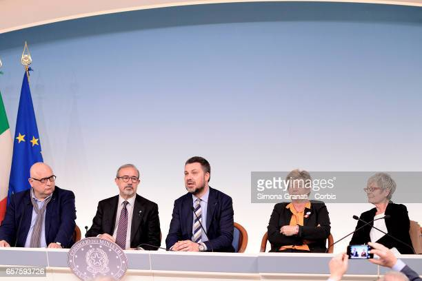 Rudy De Leeuw President of the European Trade Union Confederation Luca Visentini Secretary of the European Trade Union Confederation Carmelo...