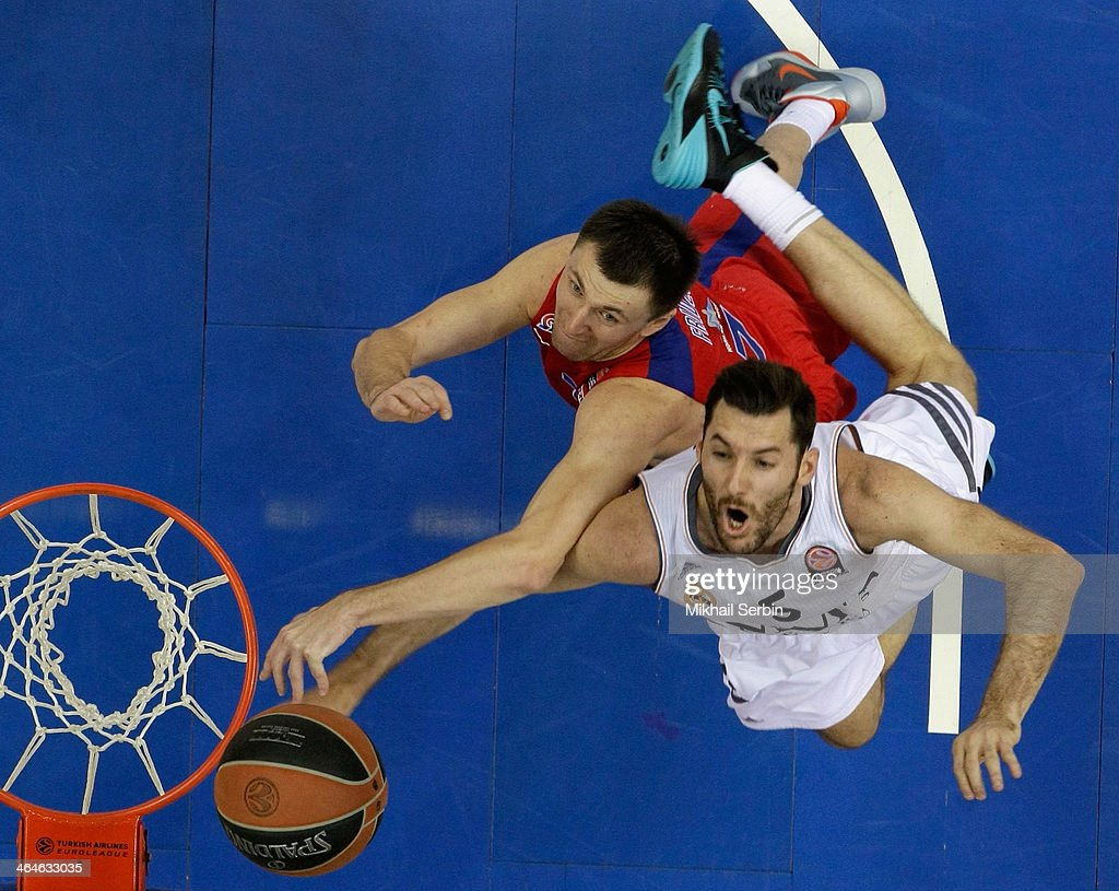 CSKA Moscow v Real Madrid - Turkish Airlines Euroleague Top 16