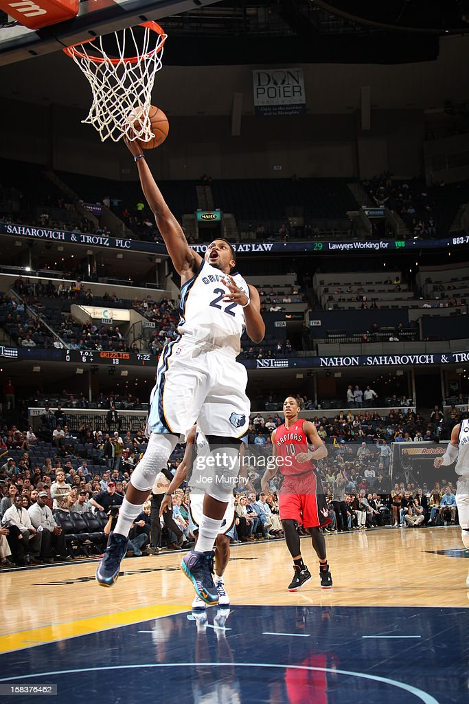 <a gi-track='captionPersonalityLinkClicked' href=/galleries/search?phrase=Rudy+Gay&family=editorial&specificpeople=236066 ng-click='$event.stopPropagation()'>Rudy Gay</a> #22 of the Memphis Grizzlies drives to the basket against the Toronto Raptors on November 28, 2012 at FedExForum in Memphis, Tennessee.