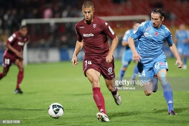 Rudy GESTEDE / Grzegorz KRYCHOWIAK Metz / Reims 8eme journee de Ligue 2
