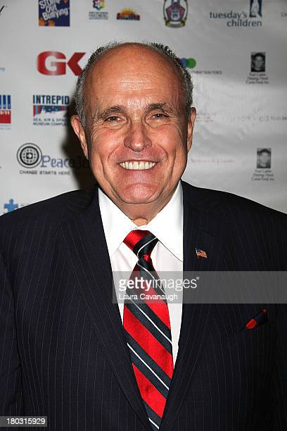 Rudy Giuliani attends Cantor Fitzgerald And BGC Partners Annual Charity Day at Cantor Fitzgerald on September 11 2013 in New York City