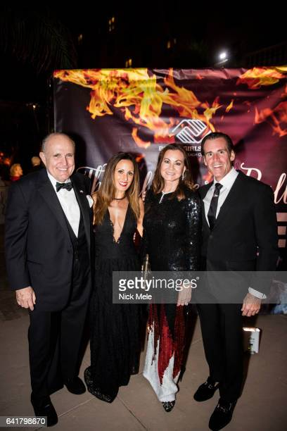 Rudy Giuliani Nicole Williams Judith Giuliani and Keith Williams attend Boys and Girls Clubs of Palm Beach County Celebrate the 36th Annual Winter...