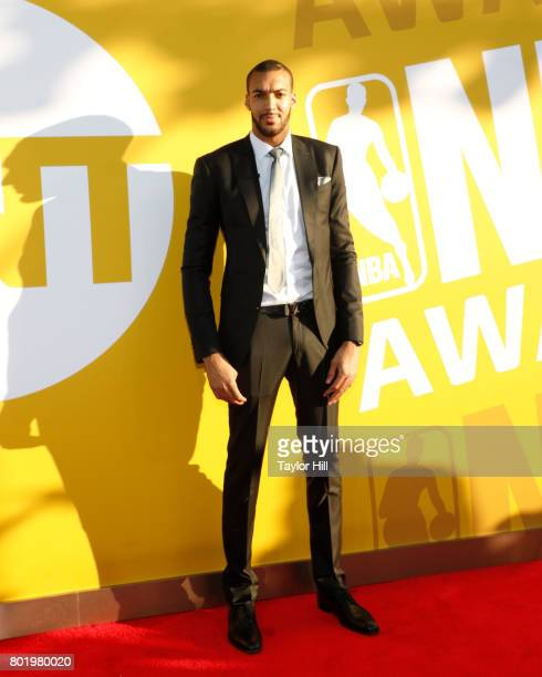 Rudy Gobert attends the 2017 NBA Awards at Basketball City Pier 36 South Street on June 26 2017 in New York City