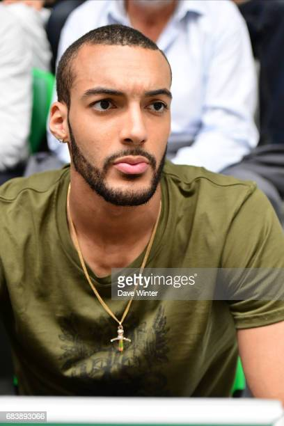 Rudy Gobert during the Pro A match between Nanterre and Paris Levallois on May 16 2017 in Nanterre France