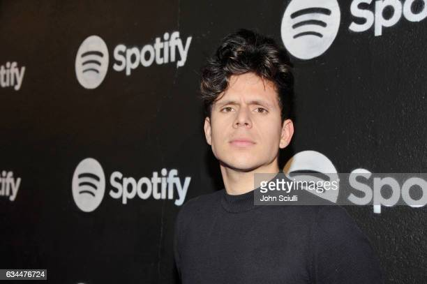 Rudy Mancuso attends the Spotify Best New Artist Nominees celebration at Belasco Theatre on 9 2017 in Los Angeles California