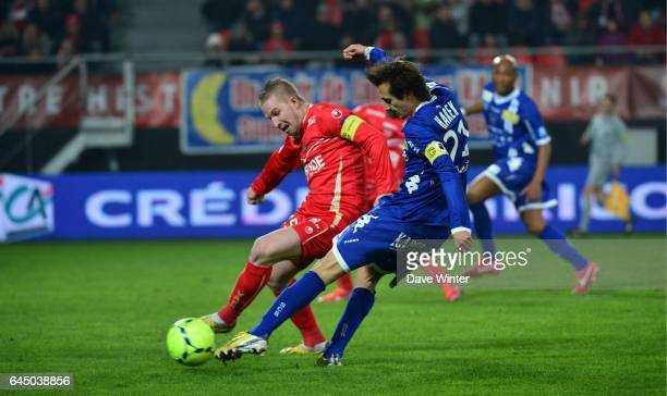 Rudy MATER / Fethi HAREK Valenciennes / Bastia 30eme Journee de Ligue 1 Photo Dave Winter / Icon Sport
