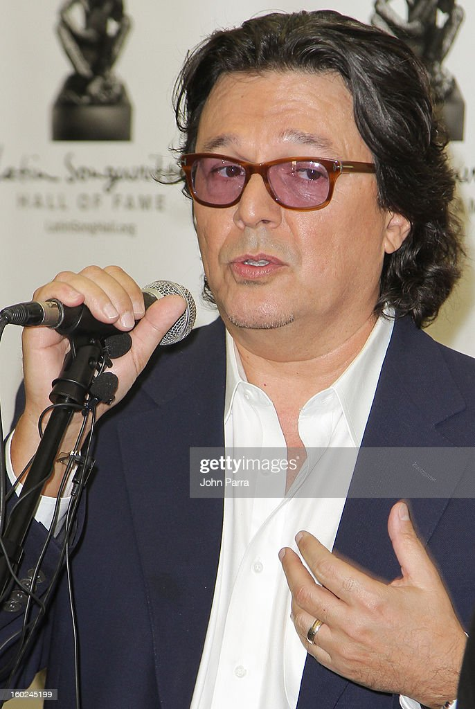 Rudy Perez attends Latin Songwriters Hall Of Fame announcement on January 28, 2013 in Miami, Florida.