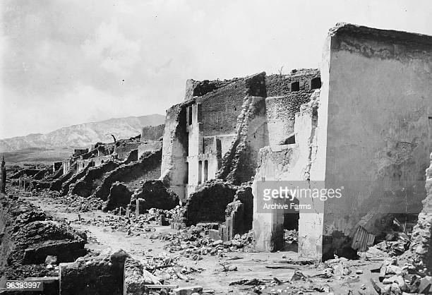 Rue de Figuier was destroyed along with the rest of the city of St Pierre after the eruption of the Mount Pelee volcano in which 30000 people were...