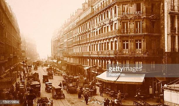 Rue du PontNeuf in Paris circa 1910