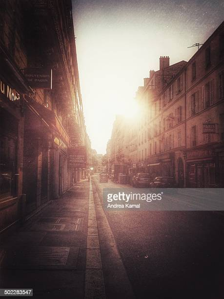 Rue SaintDominique early morning