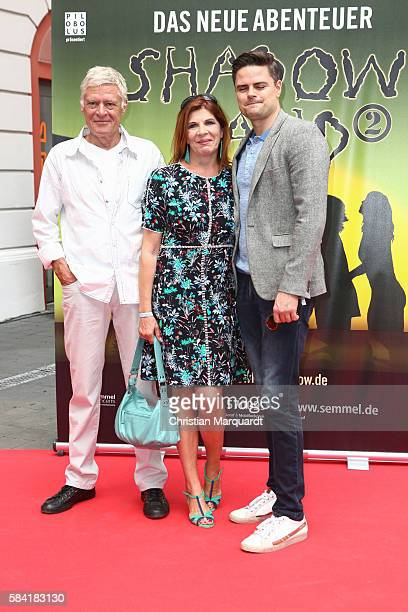 Ruediger Joswig Claudia Wenzel and Sascha Joswig attend the 'Shadowland 2 Neues aus dem Reich der Schatten' World Premiere at Admiralspalast on July...