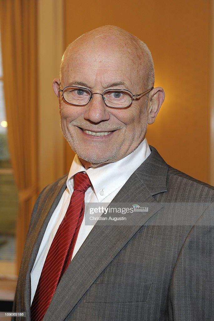 Ruediger Nehberg attends New Years`s reception of Hamburger Abendblatt at Hotel Atlantic on January 7, 2013 in Hamburg, Germany.