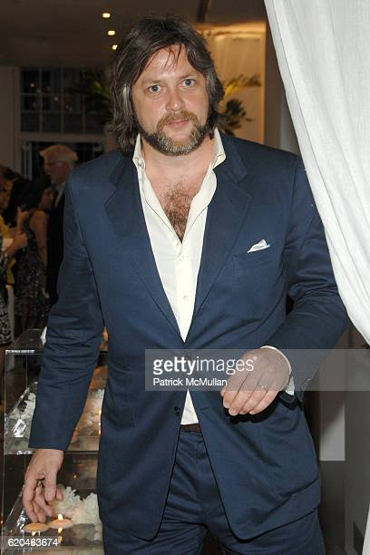 Rufus Albemarle attends LA MER and OCEANA Party for WORLD OCEAN DAY 2008 at 620 Loft Garden on June 4 2008 in New York City