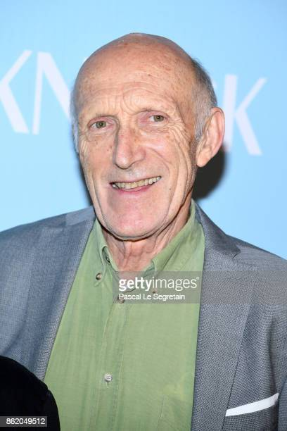 Rufus attends 'Knock' Premiere at Cinema UGC Normandie on October 16 2017 in Paris France