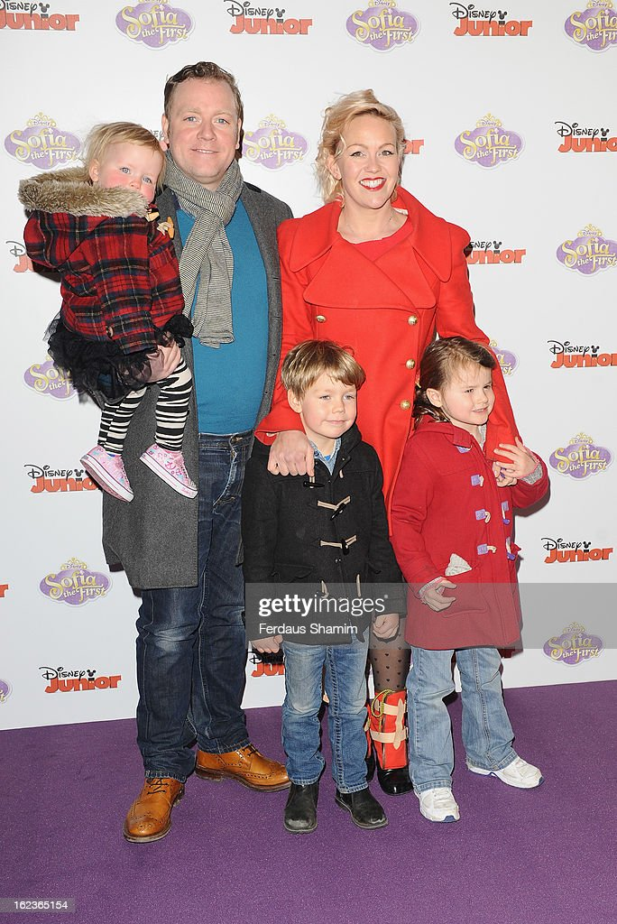 Rufus Hound attends the launch screening of Sofia The First at May Fair Hotel on February 22, 2013 in London, England.