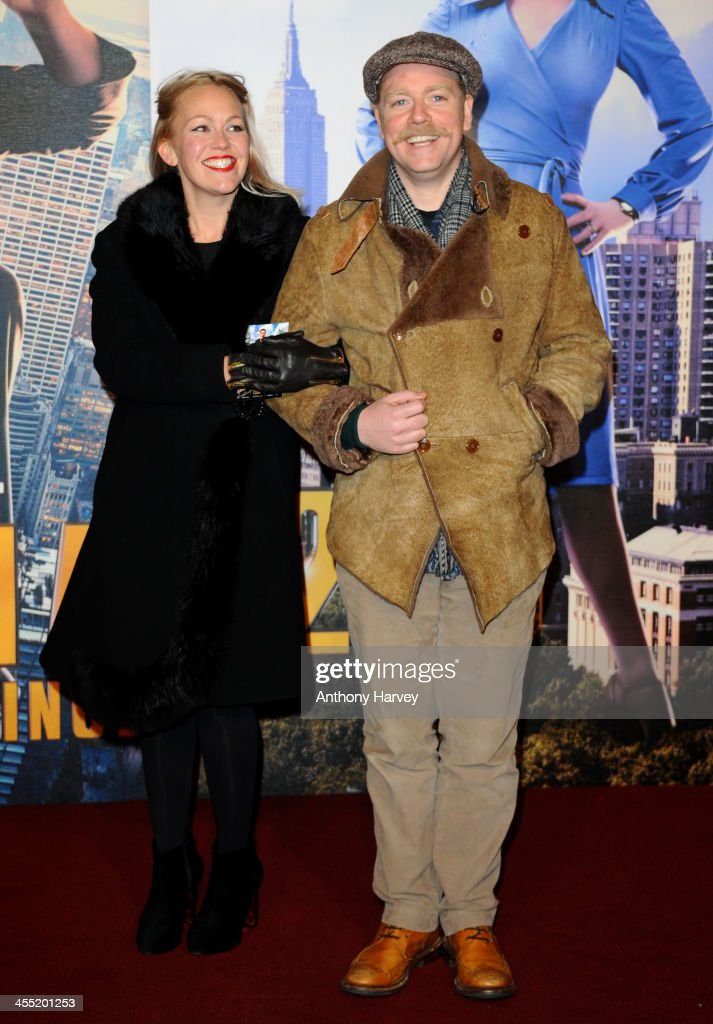 Rufus Hound attends the UK premiere of 'Anchorman 2: The Legend Continues' at Vue West End on December 11, 2013 in London, England.