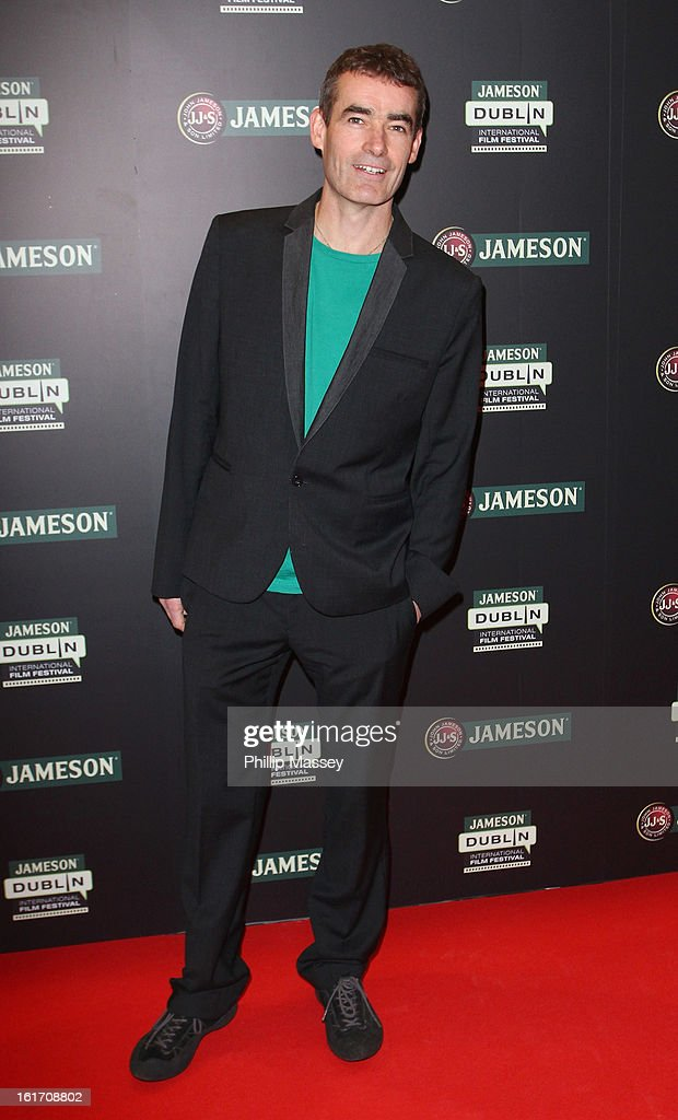 Rufus Norris attends a Gala Screening of 'Broken' as part of the Jameson International Film Festival at Savoy Cinema on February 14, 2013 in Dublin, Ireland.