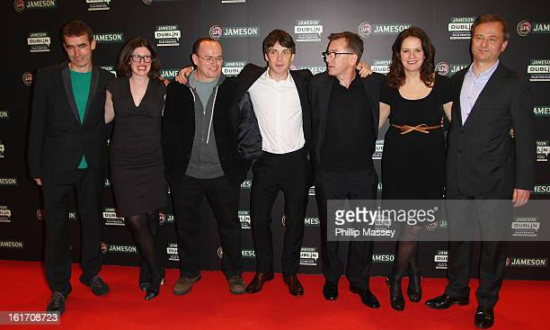 Rufus Norris Tally Garner Mark O'Rowe Cillian Murphy Tim Roth Dixie Linder and Nick Marston attend a Gala Screening of 'Broken' as part of the...