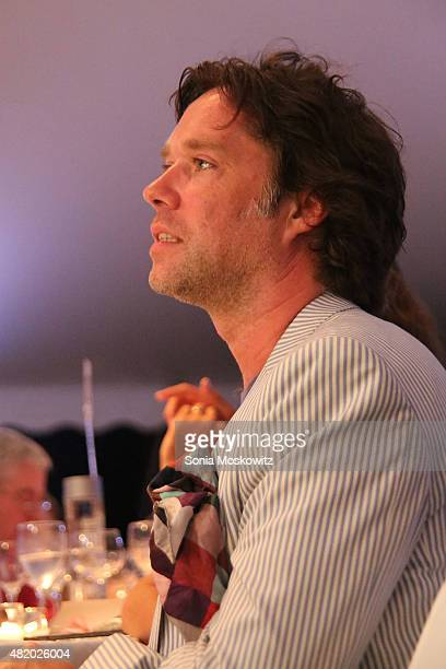 Rufus Wainwright attends the 22nd Annual Summer Benefit and Auction at The Watermill Center 'Circus of Stillness' on July 25 2015 in Water Mill New...