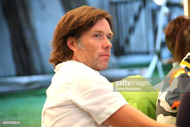 Rufus Wainwright attends the Perfect Earth Project Family Picnic and Concert on August 30 2014 in East Hampton New York
