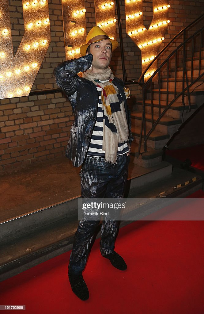 Rufus Wainwright attends the Teddy Award during the 63rd Berlinale International Film Festival at Station Berlin on February 15, 2013 in Berlin, Germany.