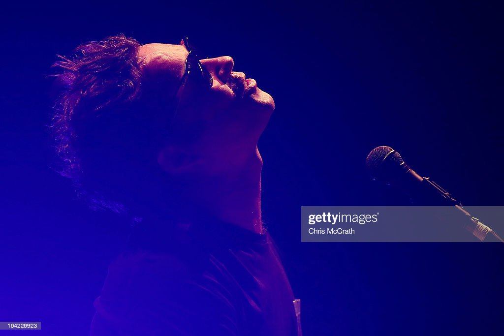 Rufus Wainwright performs on stage during the Timbre Rock & Roots Festival 2013 on March 21, 2013 in Singapore.