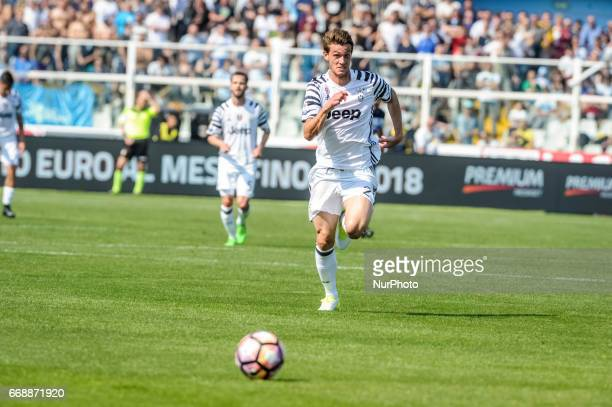 Rugani Daniele during the Italian Serie A football match Pescara vs Juventus on April 15 in Pescara Italy