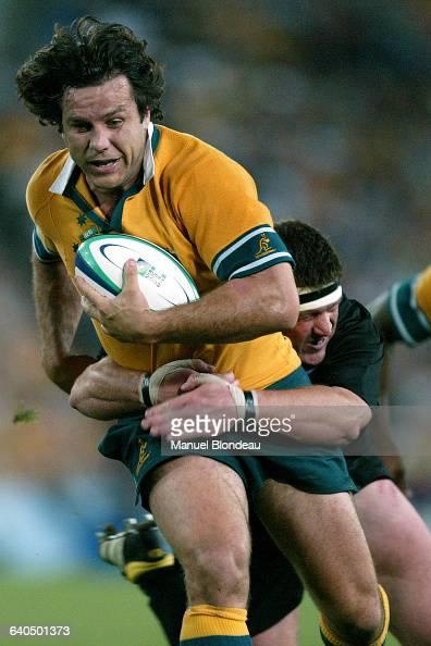 Australia vs New Zealand Brendan Cannon Rugby Coupe du Monde 2003 Demifinale Australie contre NouvelleZélande Brendan Cannon