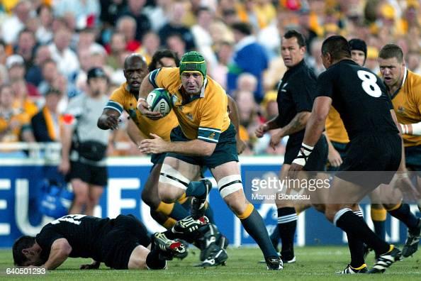 Australia vs New Zealand David Lyons Rugby Coupe du Monde 2003 Demifinale Australie contre NouvelleZélande David Lyons