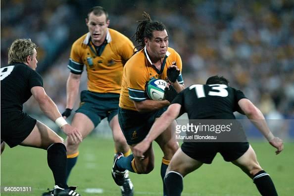 Australia vs New Zealand George Smith Rugby Coupe du Monde 2003 Demifinale Australie contre NouvelleZélande George Smith