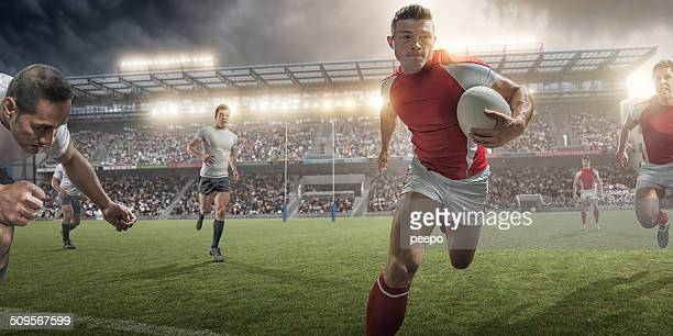 Action de Rugby
